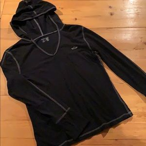 Old Navy hooded long-sleeve T-shirt